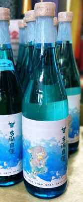 東京都福生市 石川酒造 多満自慢 アマビエ様ラベル 純米酒 720ml(バラ1本)