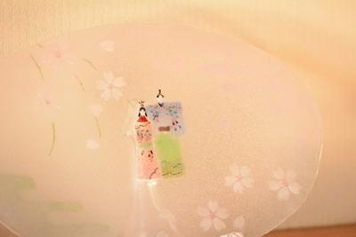 小浜 恵子 「お雛様大皿」