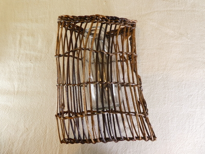 フラワーバスケット~lattice~  【c006】