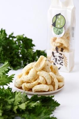<七尾市特産野菜>中島菜 かきもち