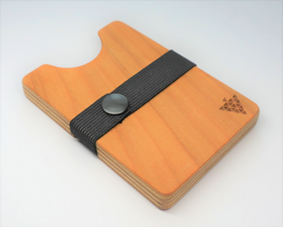 Bimbesbox アメリカンチェリー ドイツ製 天然木 カードケース