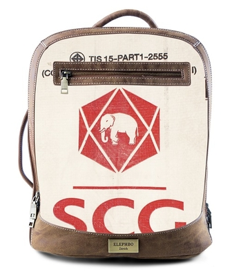 Rucksack Multi Red Elephant