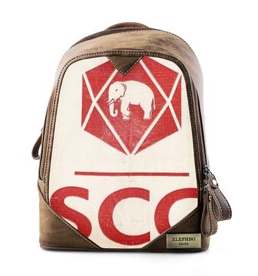 Rucksack Cutie Red Elephant