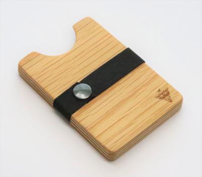 Bimbesbox ワイルドオーク ドイツ製 天然木 カードケース