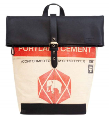 Rolltop Rucksack Red Elephant
