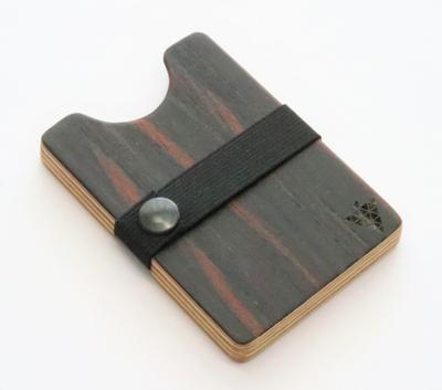 Bimbesbox マカッサルエボニー ドイツ製 天然木 カードケース