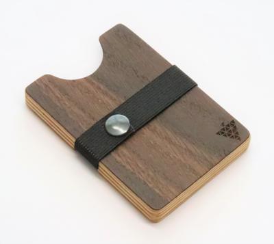 Bimbesbox スモークオーク ドイツ製 天然木 カードケース