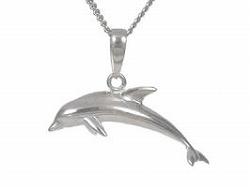 イルカのペンダント(小)【送料無料】