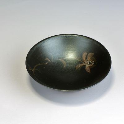 赤水窯 無名異 鉢 (黒)