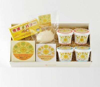 【冷蔵】佐渡乳業 農場アソートセット
