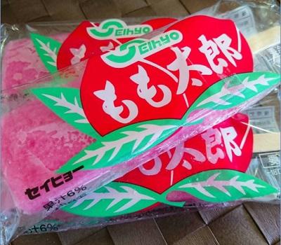 もも太郎アイス(バラ)