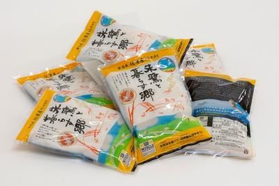 慶應ラグビー応援 佐渡朱鷺と暮らす認証米 コラボ 特別限定商品(2合×6袋入り)
