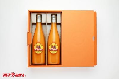 マルマみかんストレート果汁100%ジュース (720ml 2本入り)