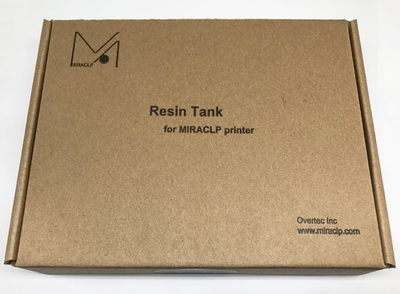 MIRACLP X120用【樹脂製】レジンタンク (本体付属のタンクと同一品)