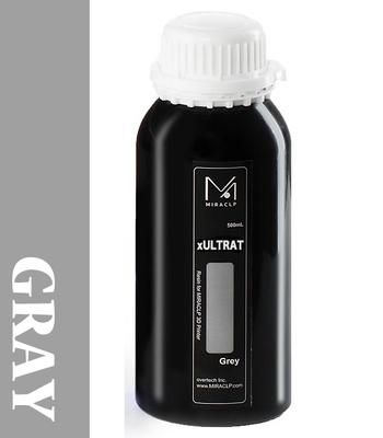 MIRACLP xULTRAT グレー UVレジン(高靭性) 500g【LCD機向け】