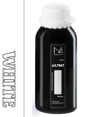 MIRACLP xULTRAT ホワイト UVレジン(高靭性) 500g【LCD機向け】