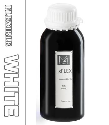 MIRACLP xFLEX ホワイト【白】  UVレジン(フレキシブル) 500g【LCD機向け】