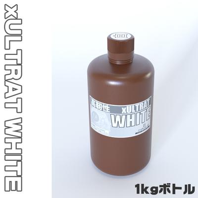 MIRACLP xULTRAT ホワイト UVレジン(高靭性)【1kg】
