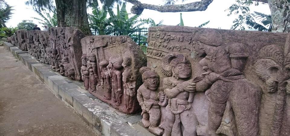 インドネシアのマヤ文明といわれている寺院