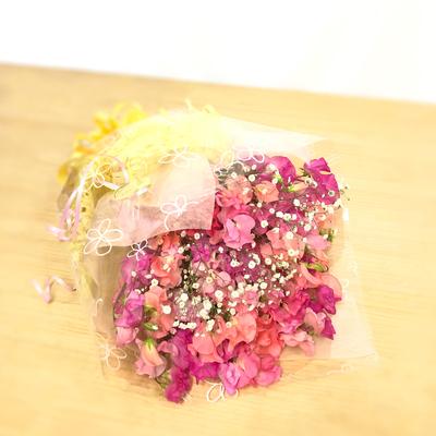 【花束】約50本「ホワイトデー花束 カスミソウ」