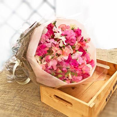 【花束】約100本「両手いっぱいの花(ラウンド)」