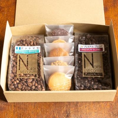 珈琲豆と焼き菓子のギフト