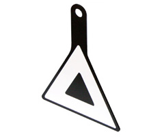 三角マークプレート(補修パーツ)