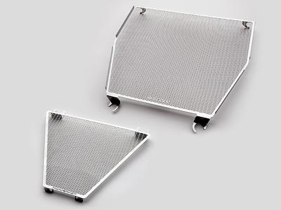 ラジエター&オイルクーラーコアガードセット DUCATI PANIGALE V4 (ステンレス304)