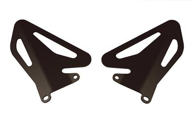 SBK ヒールガード・左右セット DUCATI 1198/1098/848 (ブラックアルマイト)