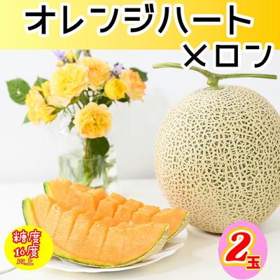 【予約販売】】オレンジハート2玉
