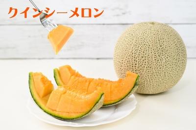 【予約販売】クインシーメロン5kg(4~5玉)
