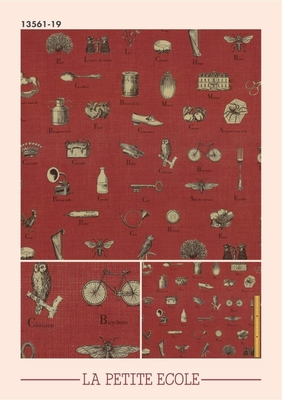 LA PETITE ECOLE (CAHRER / FADED RED) 13561-19