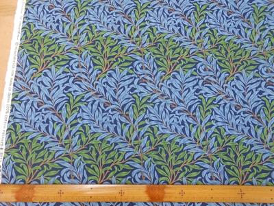 ウィロー (柳)  MULTI-BLUE (オックスフォード生地)
