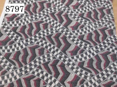 プリントニット 8797