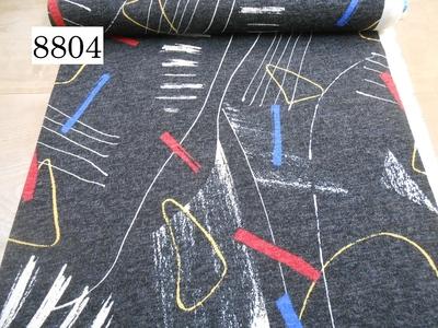 プリントニット 8804