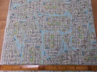 NEW YORK CITY MAP / VINTAGE