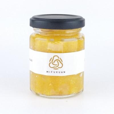 黄金のなま柚子こしょう(黄)80g12角ビン(Yuzugoshow Paste/練状柚子こしょう)
