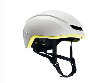BROOKS ISLAND HELMET / WHITE LIME / M