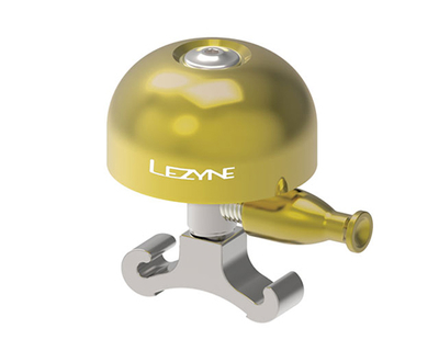 LEZYNE CLASSIC BRASS BELL / M / BRASS/SIL
