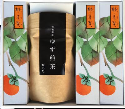 柿寿賀お茶セット・松