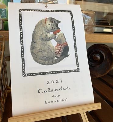bonhanco 2021年カレンダー