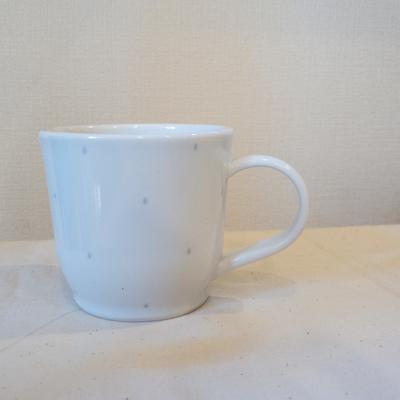 水玉コーヒーカップ