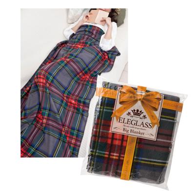 【ケース販売】【380円(税抜)×40入】エレグラス BIGブランケット