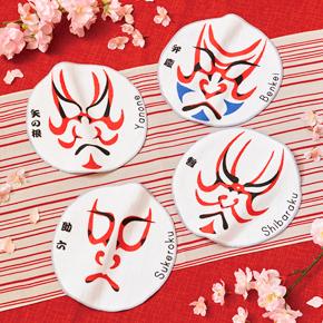 【ケース販売】【68円×480入】歌舞伎ハンドタオル