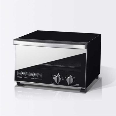 ツインバード ミラーガラス オーブントースター