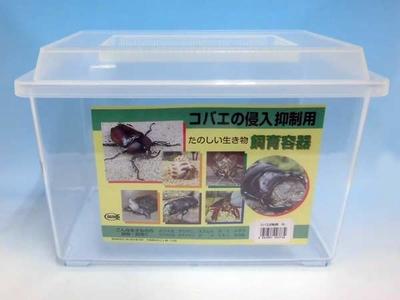 ■コバエ侵入防止用飼育容器 大ケース
