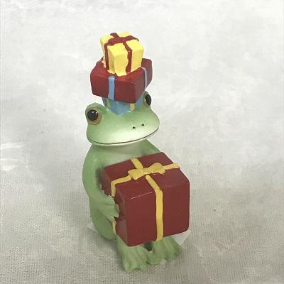 コポー プレゼントとカエル