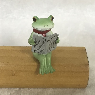 コポー 新聞を読むコポリーマン