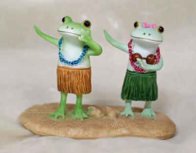 コポー カップルでフラダンス