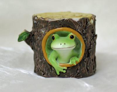 コポー 切り株からカエル